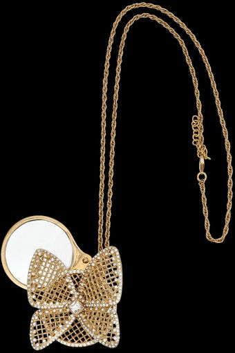 Azzaro Kiwi Necklace - Lyst