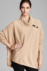 Calvin Klein Sweater Cape - Lyst