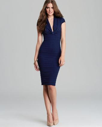 Catherine Malandrino Dress Favorite Tina Pointelle Rib - Lyst