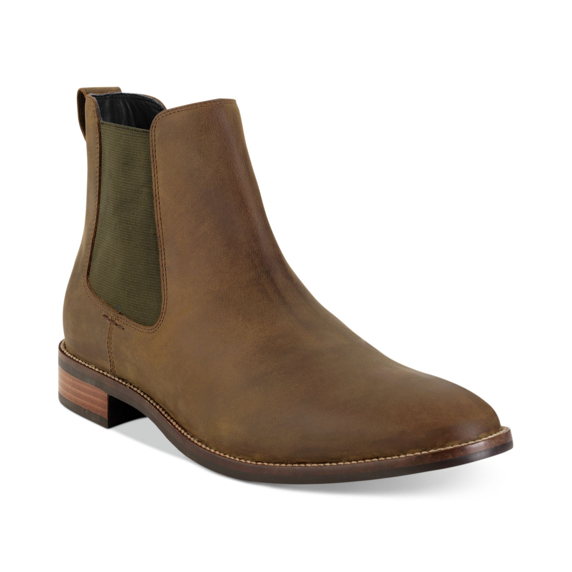 cole haan lennox hill chelsea boots in brown for men. Black Bedroom Furniture Sets. Home Design Ideas