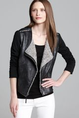Ella Moss Jacket Riley Faux Shearling - Lyst