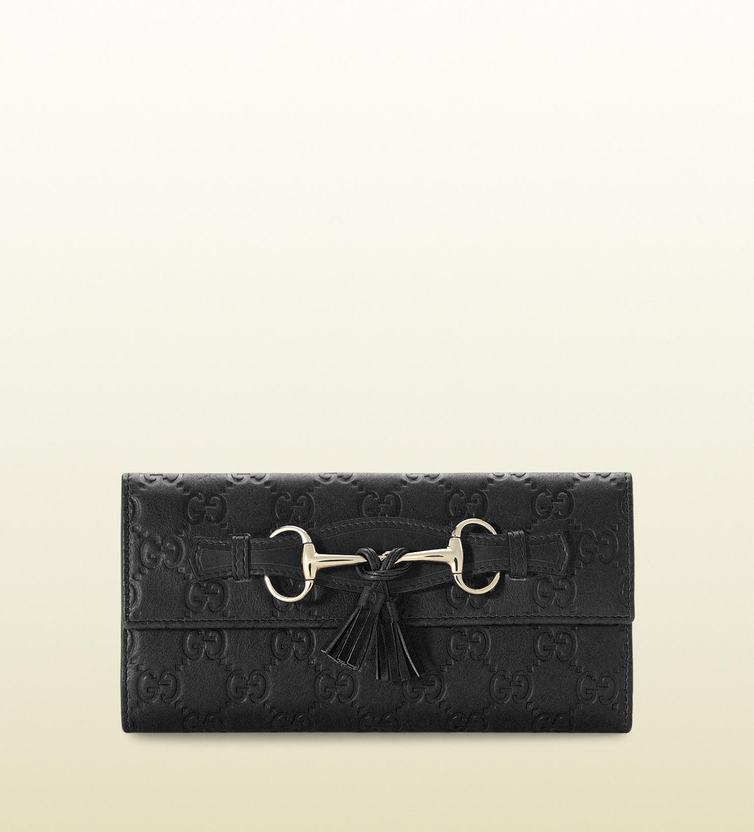03891c317d85 Lyst Gucci Tel And Horsebit Continental Wallet In Black. Gucci Horsebit  Long Wallet. Gucci Horsebit Long Wallet Luxury Mavins