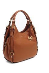 Michael Kors Leather Hobo Bedford - Lyst