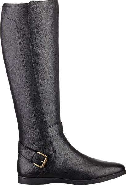 Nine West Toxicatn Boot in Black (BLACK LEATHER) - Lyst
