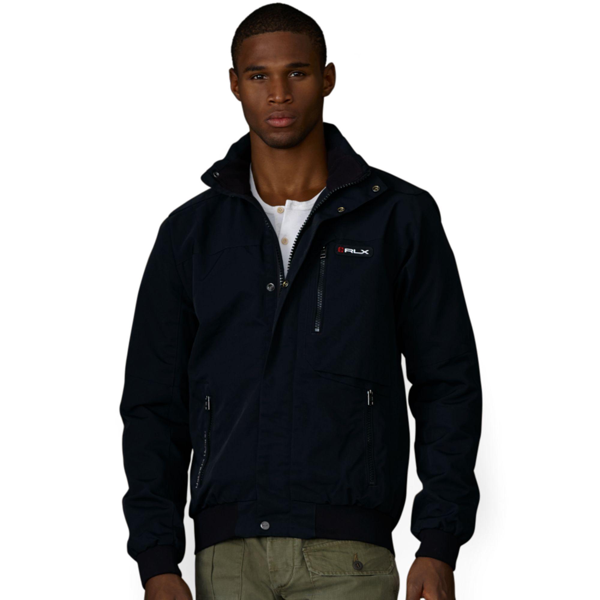 Ralph Lauren Rlx Mckinley Utility Jacket in Black for Men ...