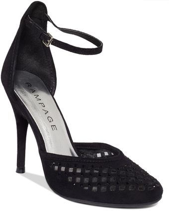 Rampage Junior Ankle Strap Pumps - Lyst