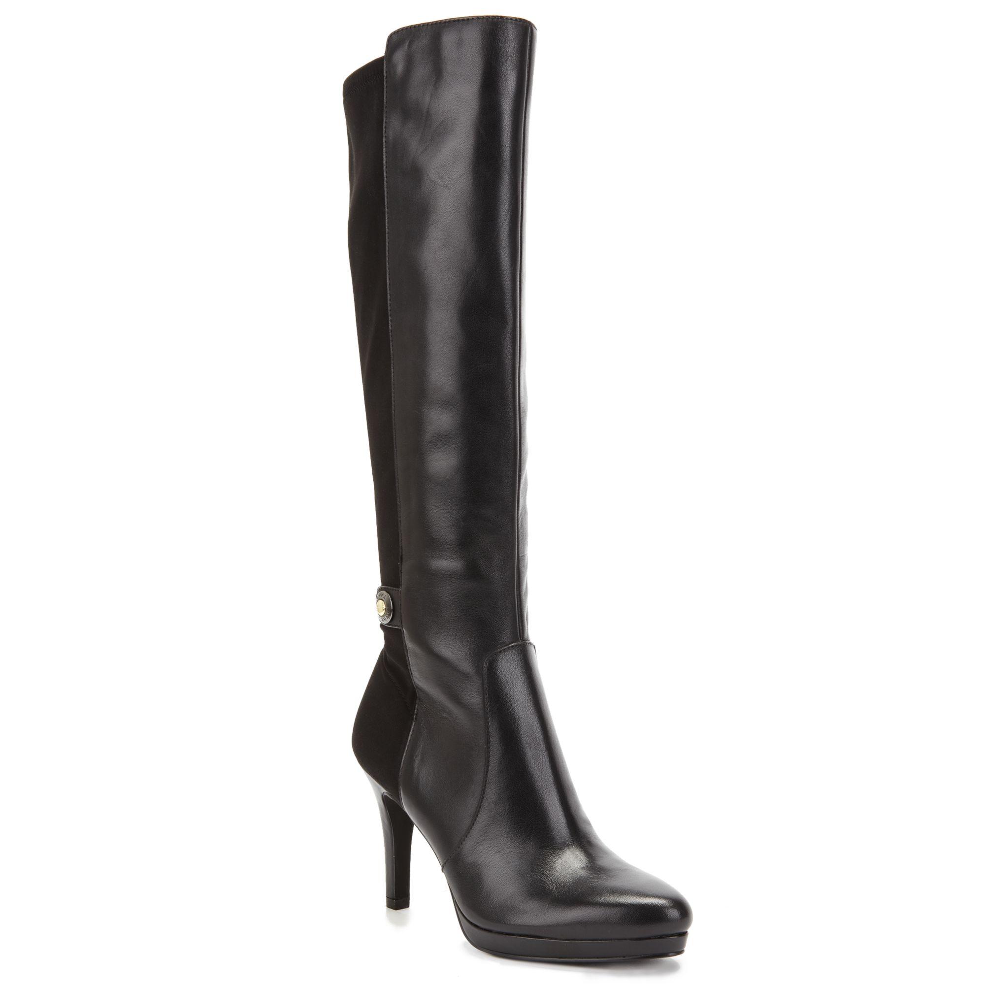 tahari garrett dress boots in black lyst