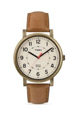Timex® Antique Gold Tone Watch 42mm - Lyst