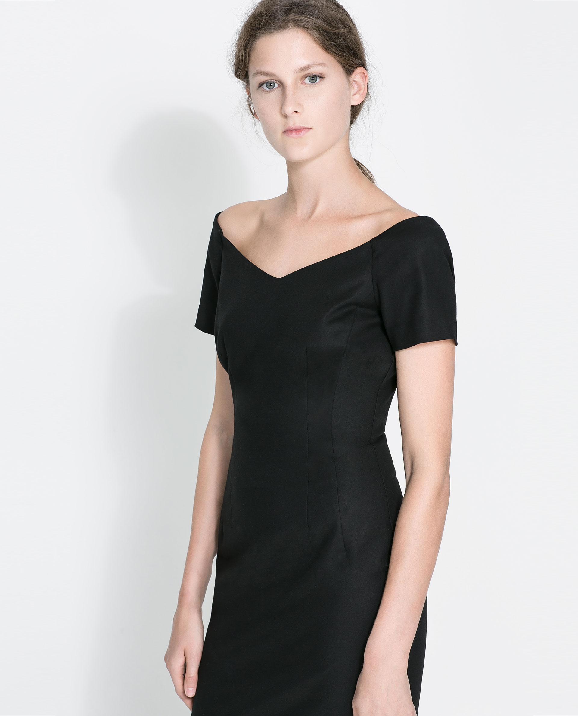V Neck Tube Dress