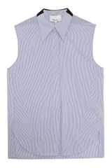 3.1 Phillip Lim Pinstripe Sleeveless Shirt - Lyst