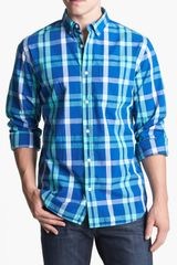 Bonobos Conover Regular Fit Plaid Sport Shirt - Lyst