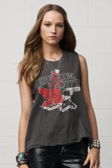Denim & Supply Studded Sleeveless Eagle Tee - Lyst