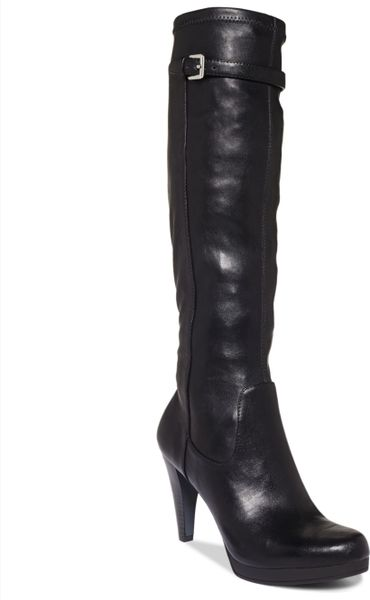 Nine West Noureen Tall Dress Boots in Black - Lyst