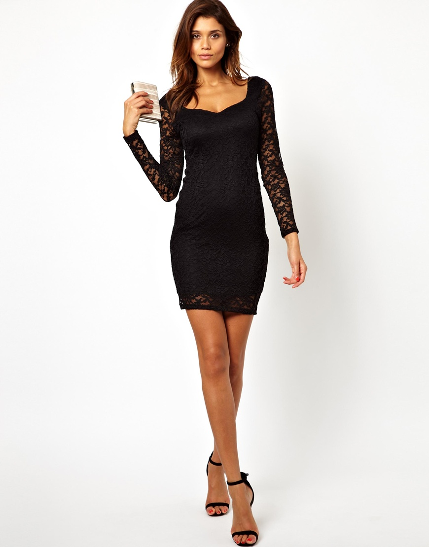 Designer Lace Bodycon Dresses