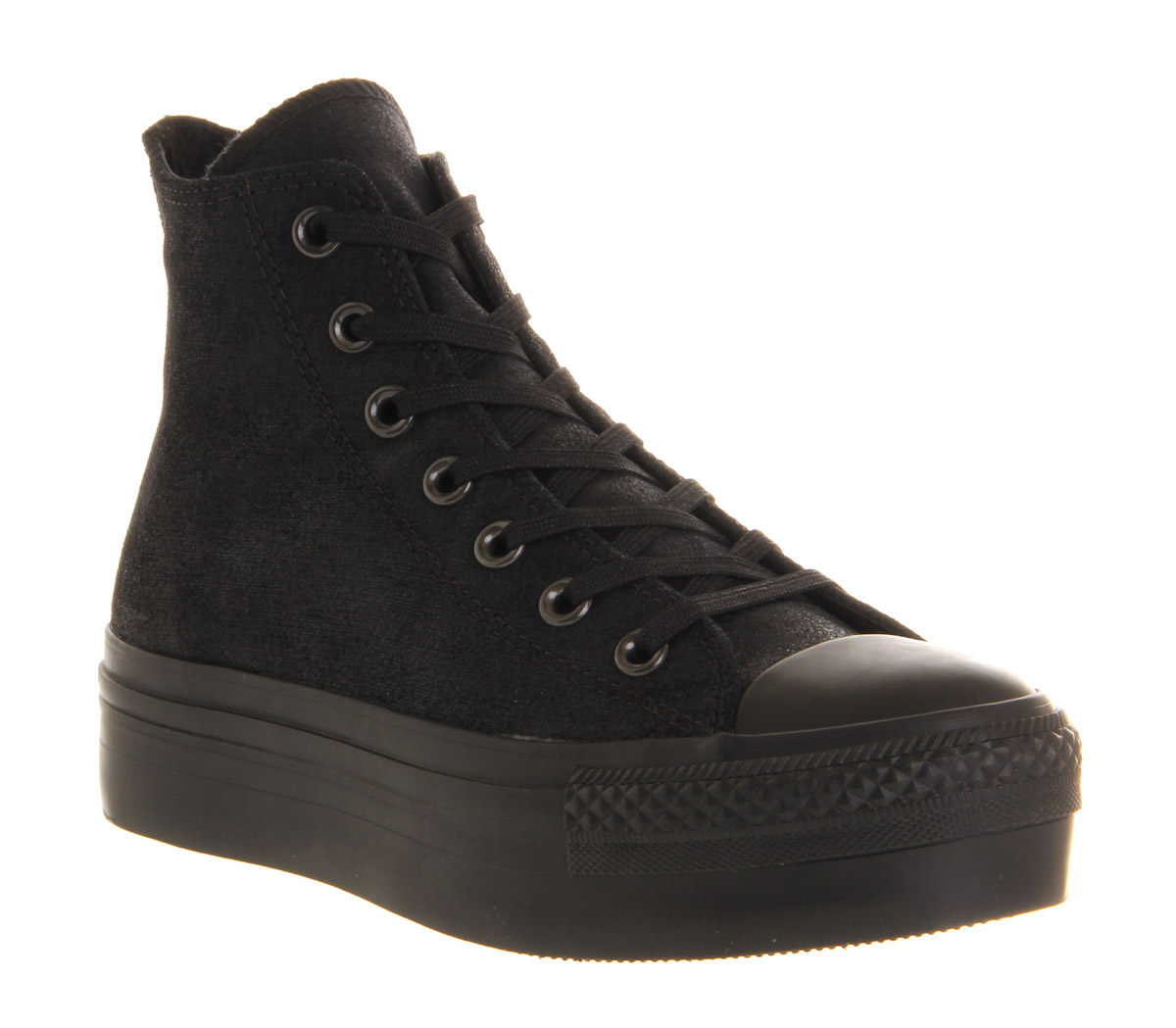 Star In Black Hi All Platform Converse Lyst pEPwUqzw