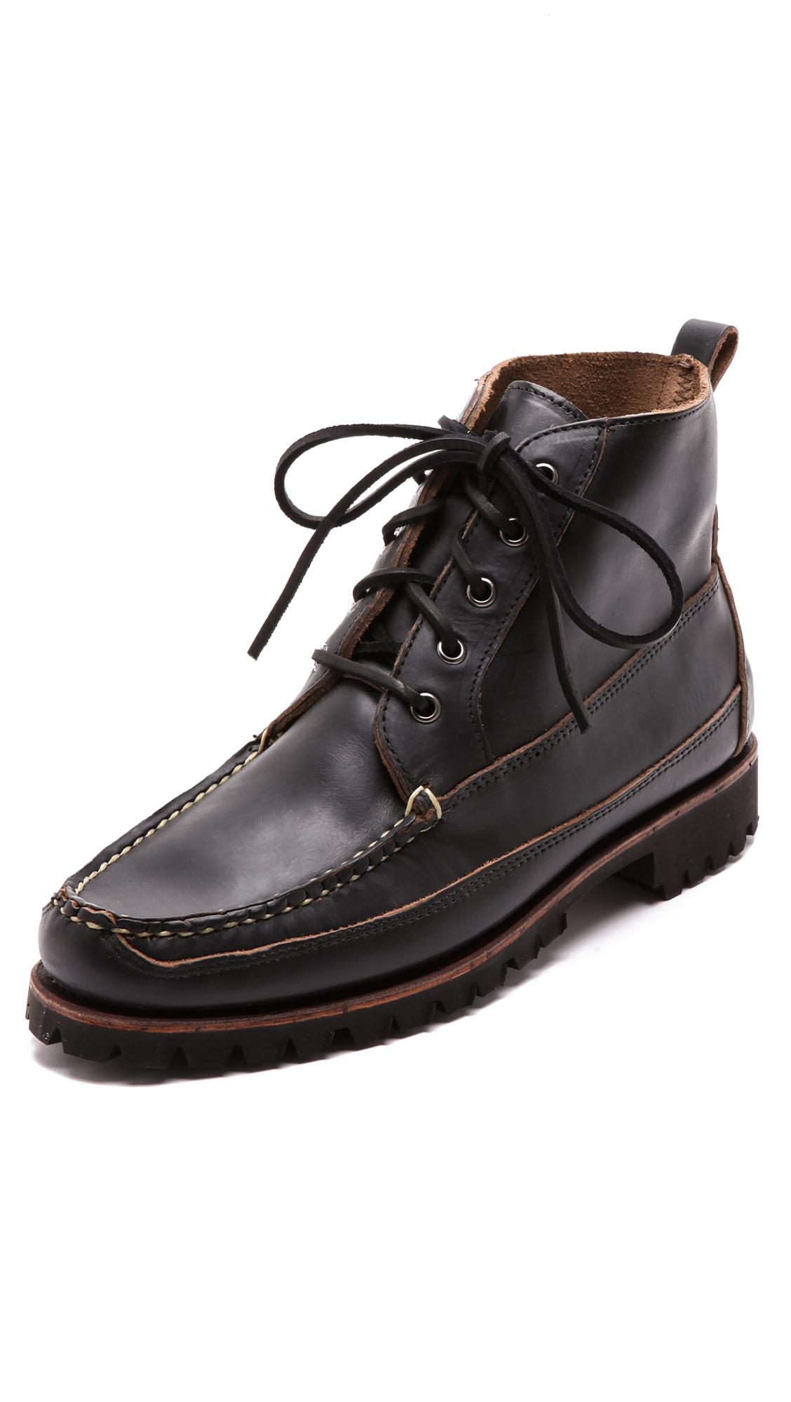 Eastland Kennebunk Usa Boots In Black For Men Lyst