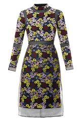 Erdem Phyliss Floral Embroidered Dress - Lyst