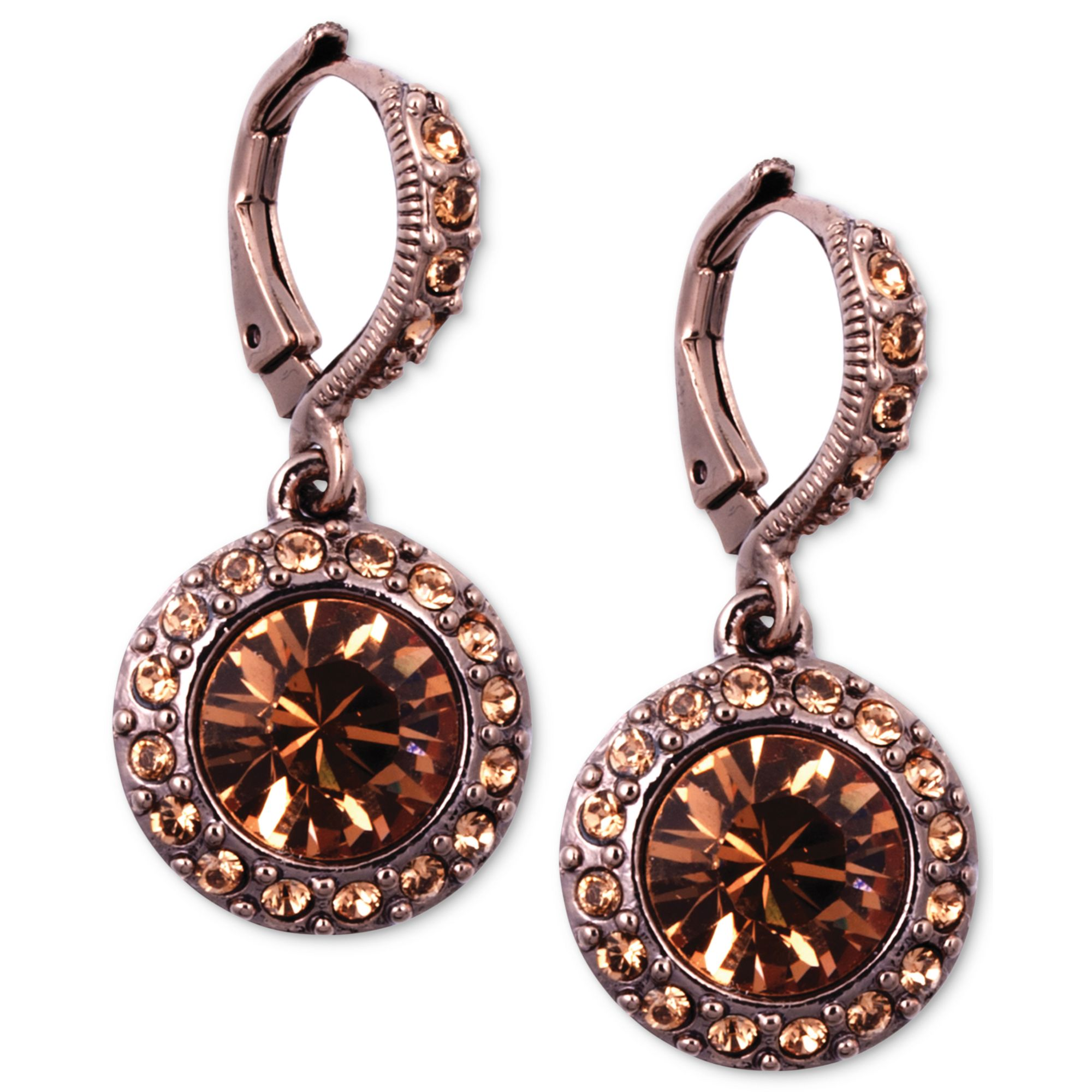 earrings in natural halo and gold stud brown jewelry ct diamond morganite rose