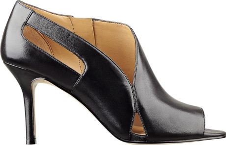Nine West Graphi-foto Bootie in Black (BLACK LEATHER) - Lyst