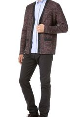 Paul Smith Multicolor Cardigan Sweater - Lyst