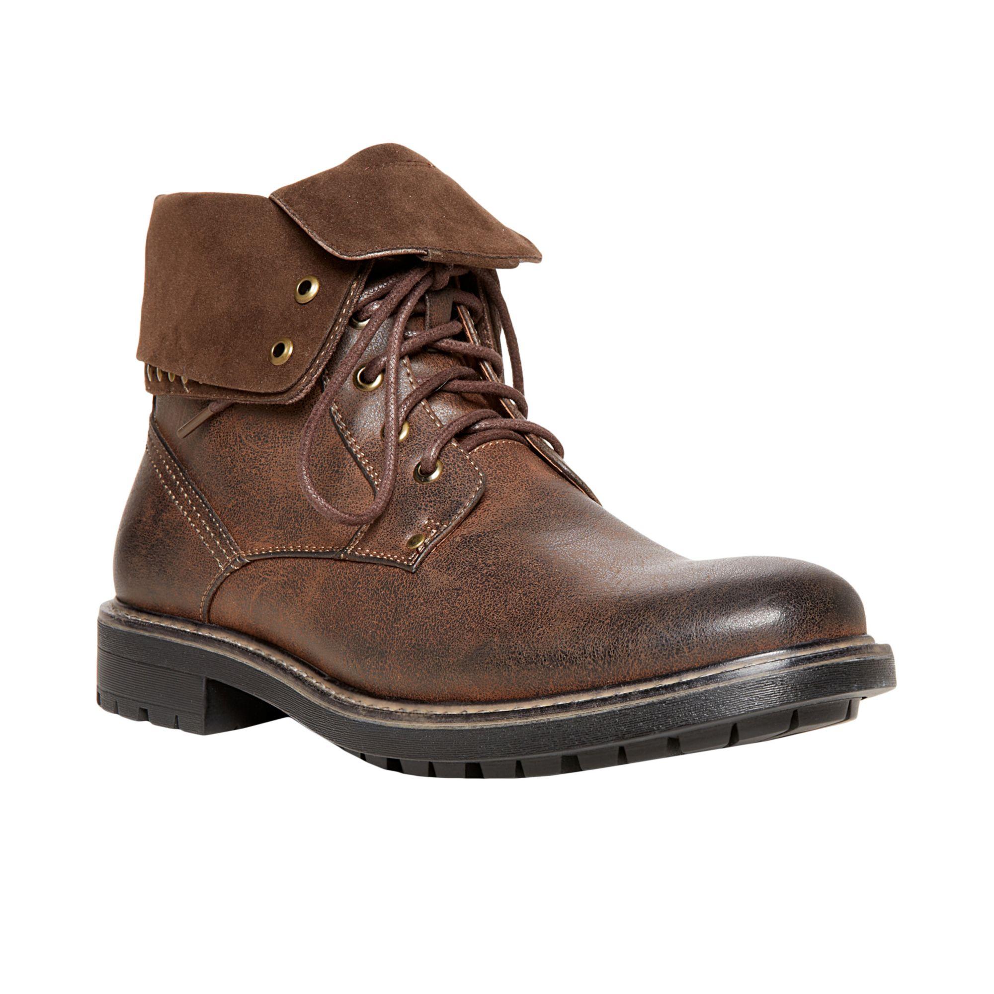 steve madden madden mens shoes mylow boots in brown for men dark brown lyst. Black Bedroom Furniture Sets. Home Design Ideas