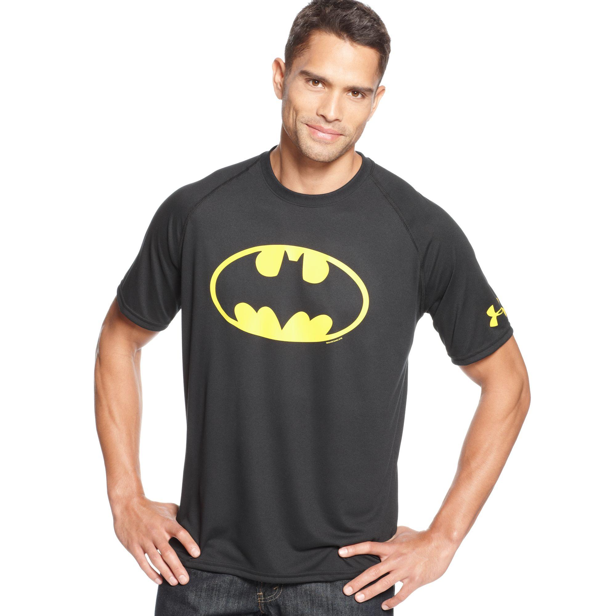 Under Armour Batman T-Shirt in Black for Men | Lyst