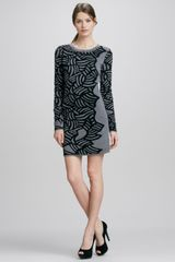 Diane Von Furstenberg Farley Printed Knit Dress - Lyst