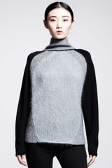 Helmut Lang Knitsleeve Turtleneck Sweater - Lyst