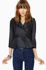 Nasty Gal Transformer Moto Jacket - Lyst
