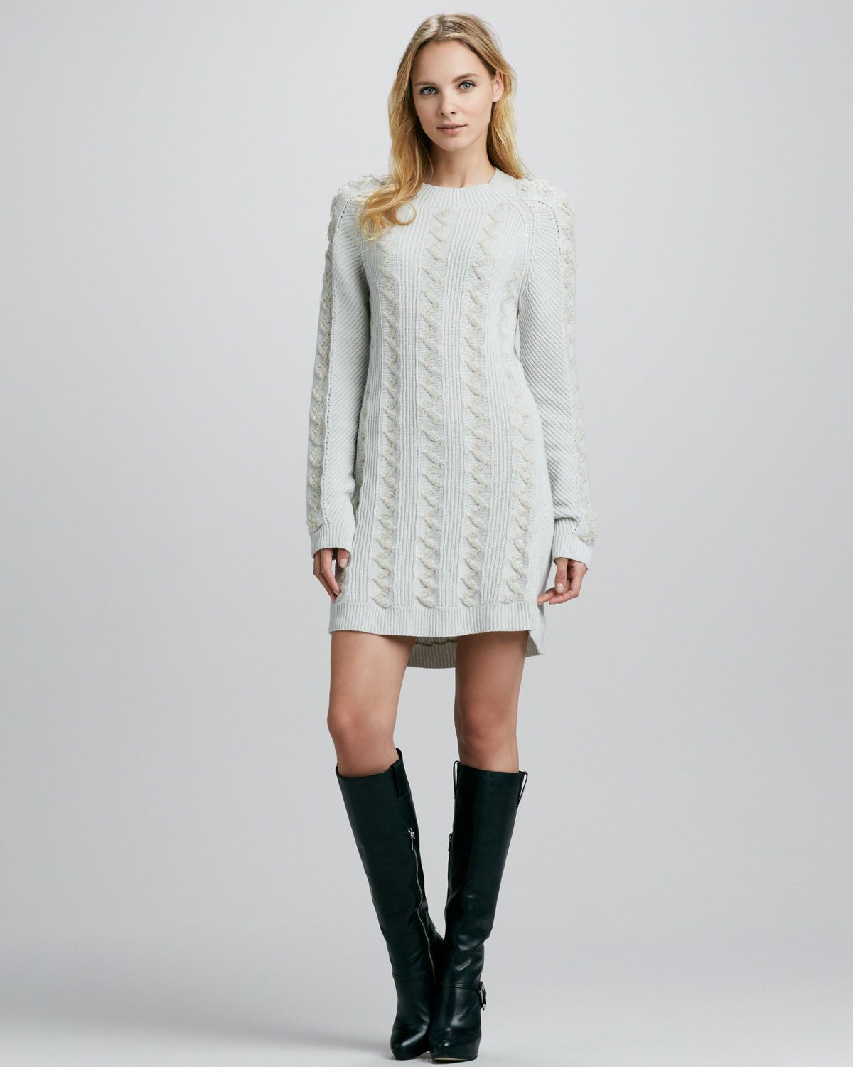 Cable Sweater Dress | Dress images
