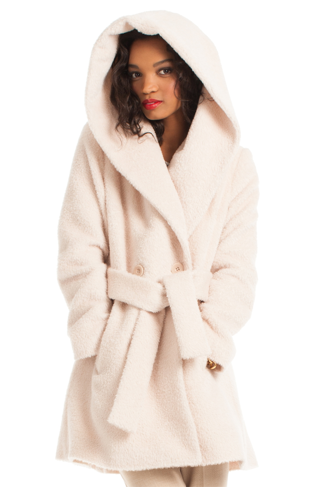 Trina Turk Amelia Coat In Natural Lyst