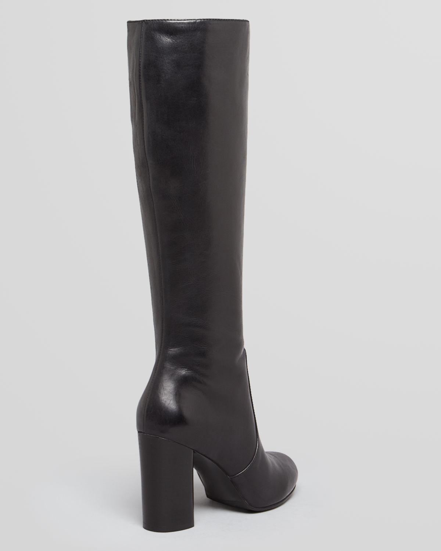 Via spiga Tall Boots Caleb High Heel in Black   Lyst