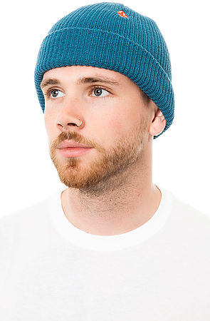 Lyst - Volcom The Full Stone Cuff Beanie in Blue for Men c9247d6c2238