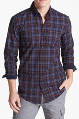 Boss by Hugo Boss Sven Plaid Slim Fit Sport Shirt - Lyst