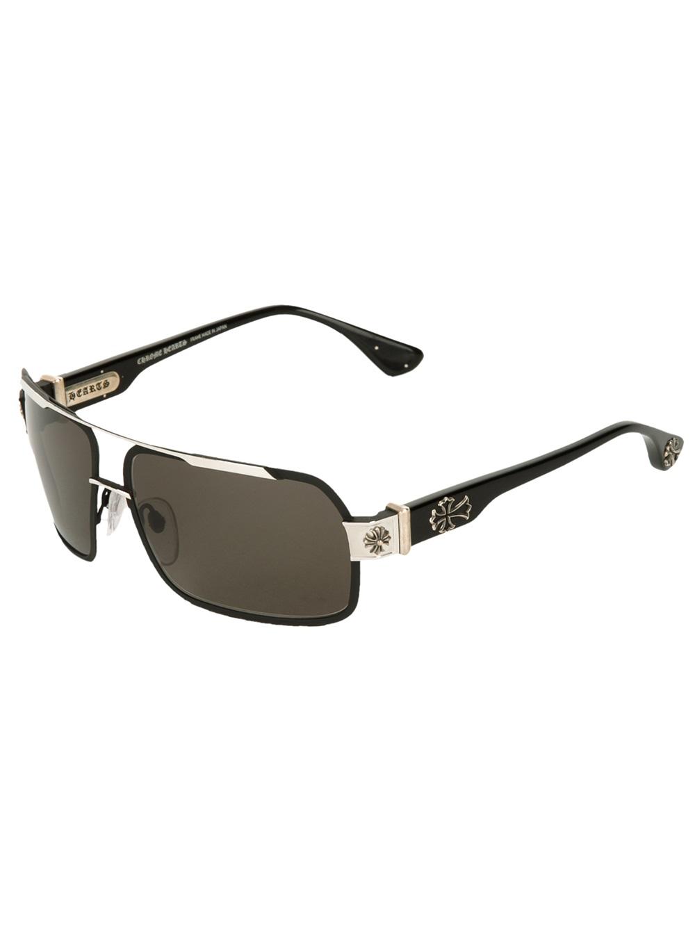 a5e7372d9b66 Lyst - Chrome Hearts Hummer Sunglasses in Black for Men