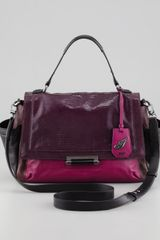Diane Von Furstenberg Highline Courier Satchel Bag Multi - Lyst