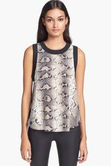 Elizabeth And James Vivi Silk Top - Lyst