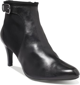 Ellen Tracy Cordo Booties - Lyst