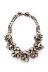 Erickson Beamon Whiter Shade Of Pale Crystal Necklace - Lyst