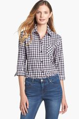 Foxcroft Check Stretch Cotton Shirt - Lyst