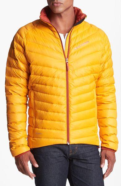 Helly Hansen Verglas Down Jacket In Orange For Men