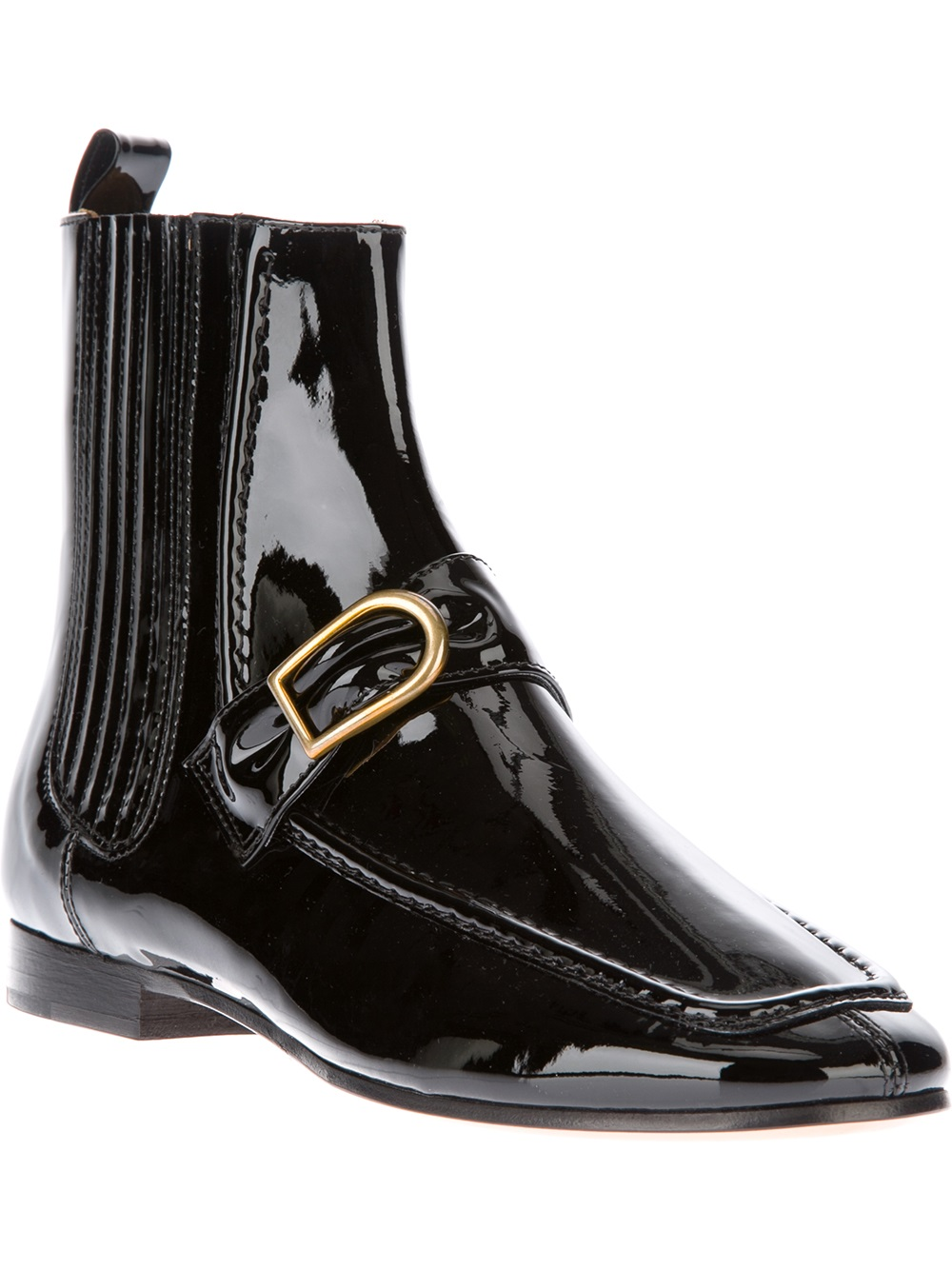 Creative Glistening With A Highshine Finish, This Goto Chelsea Boot Ties Any Look Together With A Stylish Touch Of Classic Cool Elastic Goring On The Sides Help Ease Them On And Keep Things Comfortable At The Ankles Just Add Denim