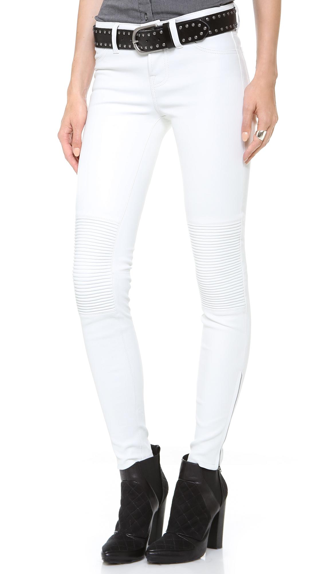 Popular REV39IT Xena Women39s Leather Pants  BlackWhite