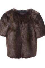 Jo No Fui Beaver Fur Jacket - Lyst