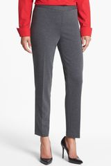 Jones New York Audrey Side Zip Ponte Pants - Lyst