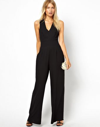 Love Jumpsuit with Cross Back - Lyst