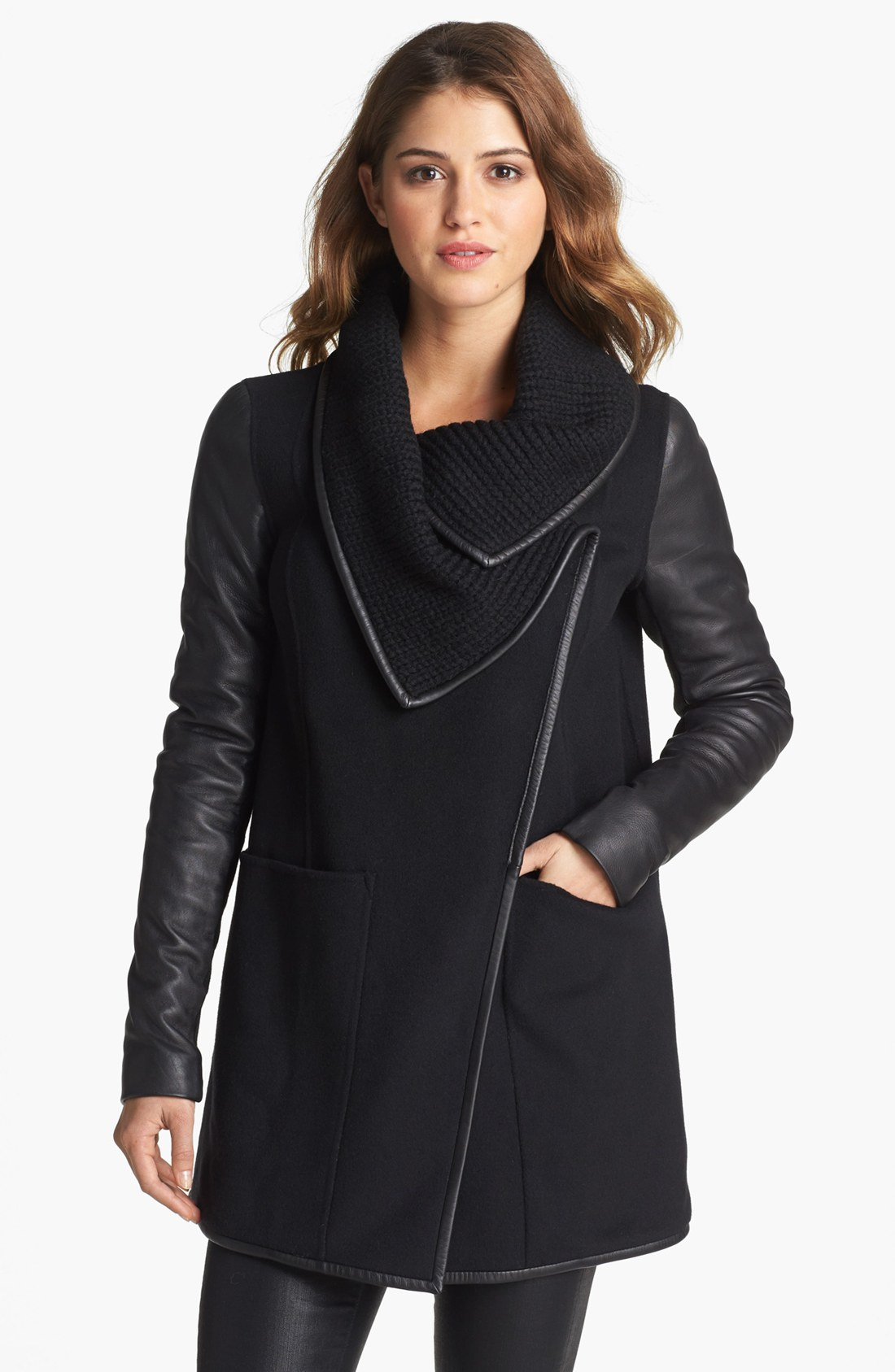 Shop affordable, unique leather sleeve black coat designed by top fashion designers worldwide. Discover more latest collections of Outerwear at shopnow-bqimqrqk.tk