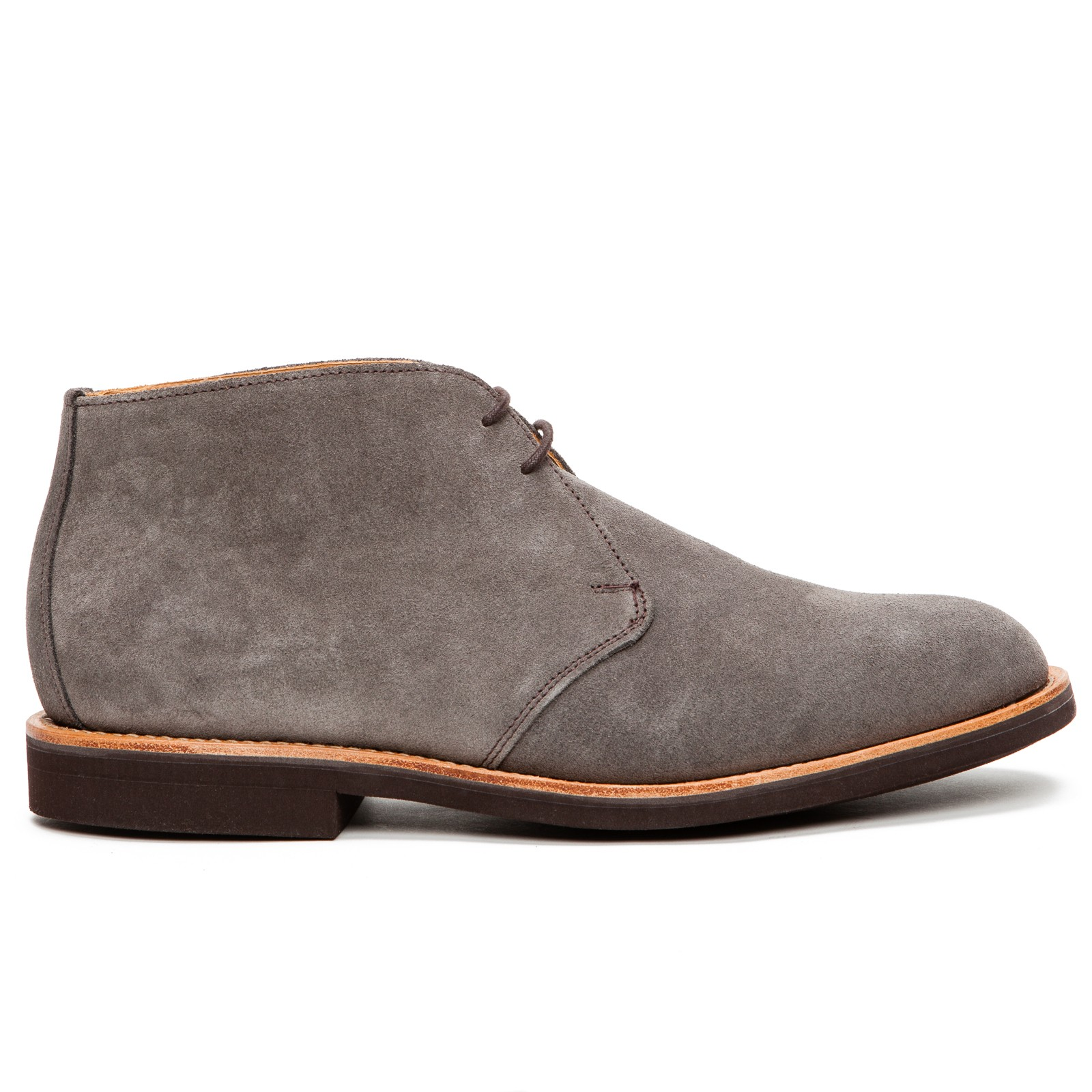 mcnairy suede desert boots in gray for grey lyst