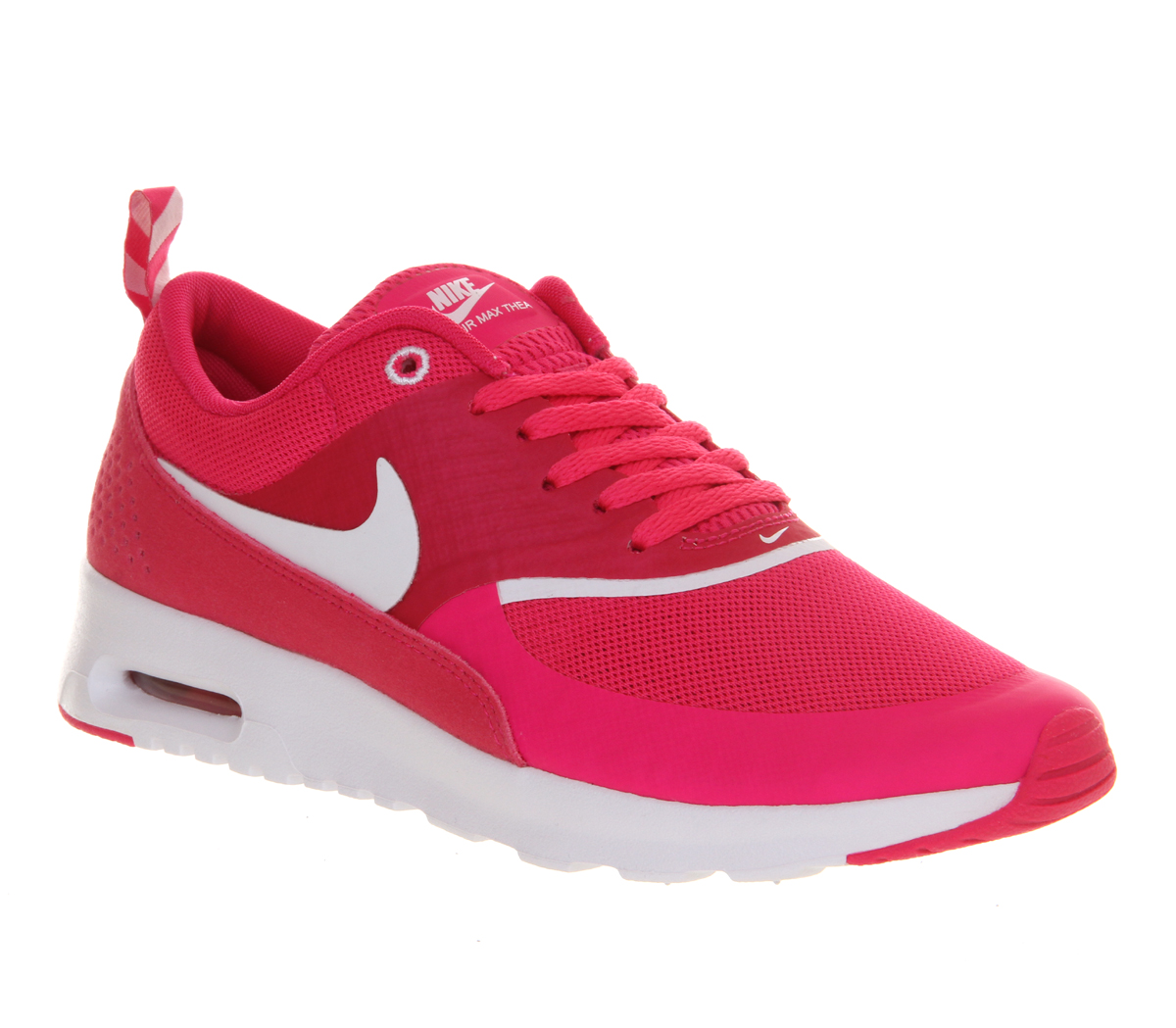 lyst nike air max thea in pink. Black Bedroom Furniture Sets. Home Design Ideas