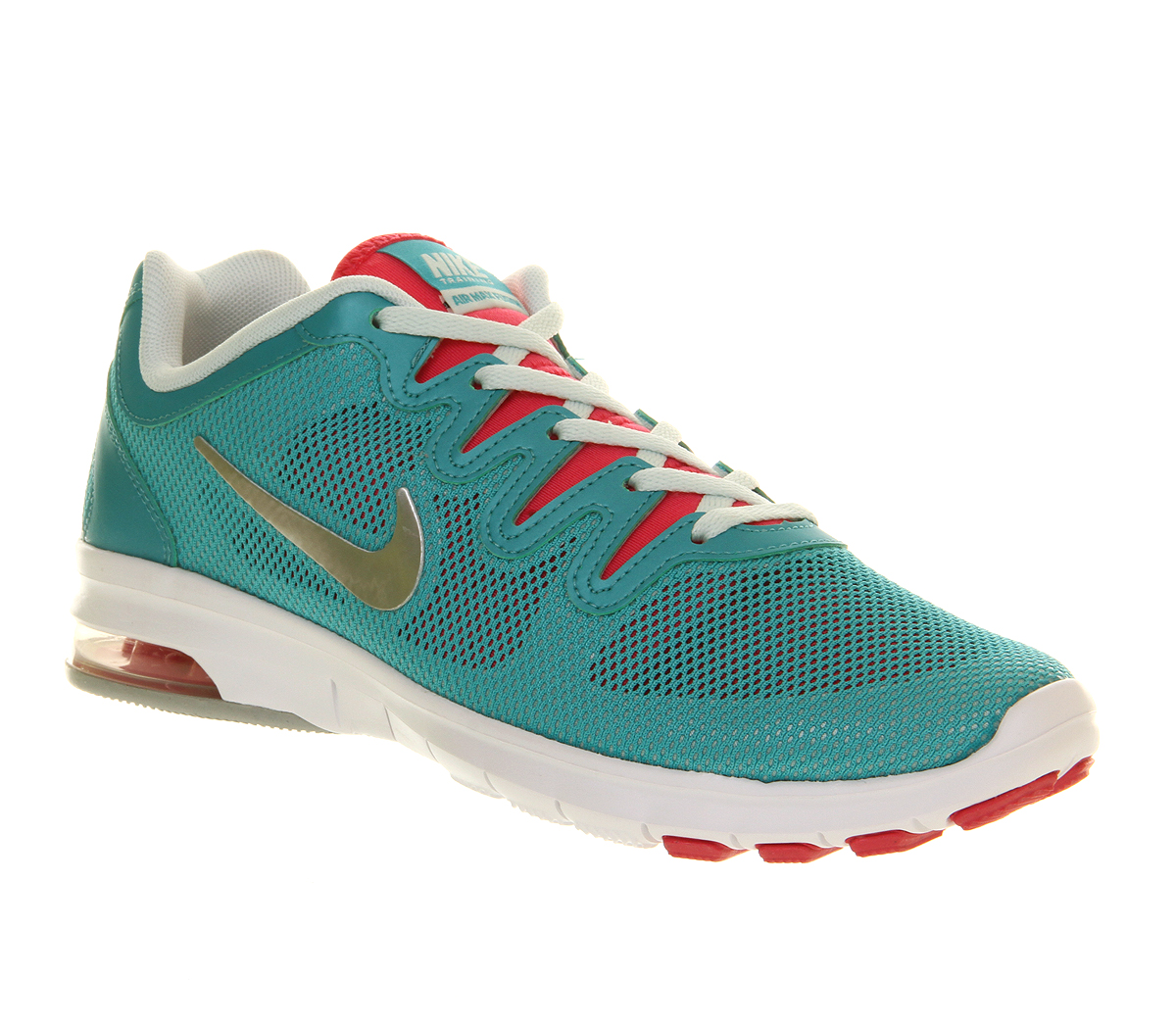Nike Wmns Air Max Fusion Sport Turquoise Metallic in argento rosa in Metallic   1620a3